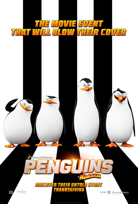 Poster The Penguins Of Madagascar