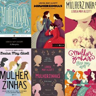 Seia edições, capas diferentes do livro mulherzinhas
