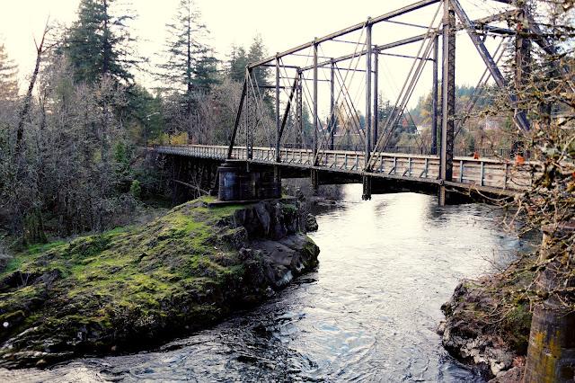 North Santiam Railroad Bridge