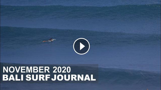 Bali Surf Journal - November 2020