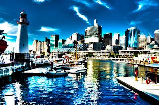 Бухта Дарлинг Харбор в Сиднее