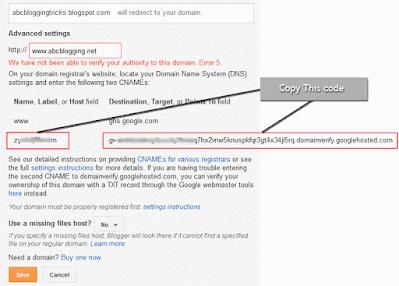 Domain Adresini Blogger'e Yönlendirmek ve CNAME Ayarlarını Yapmak