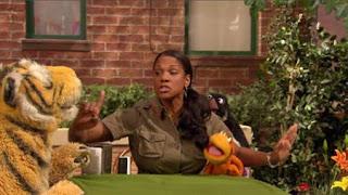 zookeeper Audra McDonald, Sesame Street Episode 4414 The Wild Brunch season 44