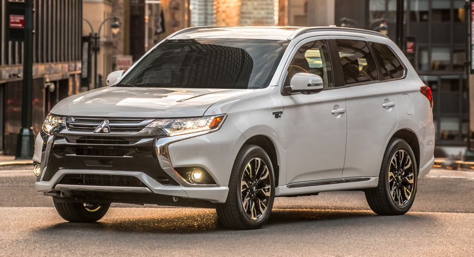 2018 Mitsubishi Outlander Phev Lands In The U S From 35 535