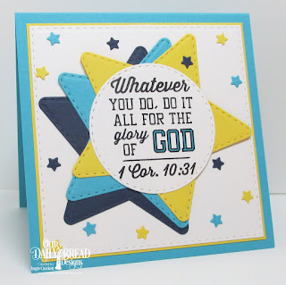 ODBD Teamwork, ODBD Custom Double Stitched Stars Dies, ODBD Custom Sparkling Stars Dies, ODBD Custom Double Stitched Circles Dies, ODBD Custom Double Stitched Squares Dies, Card Designer Angie Crockett