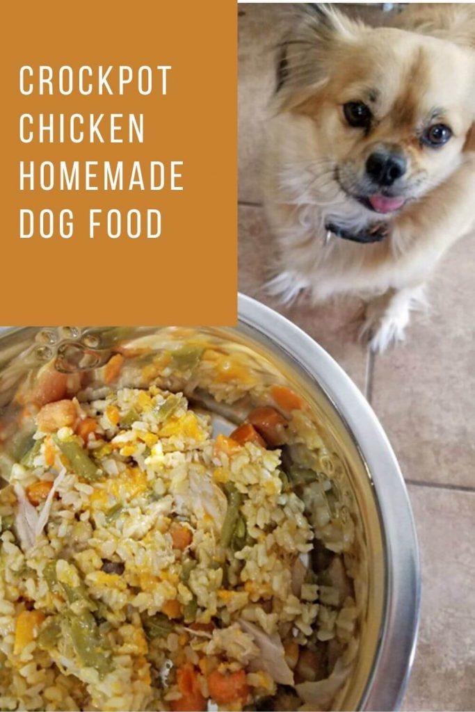 Crockpot Chicken Homemade Dog Food