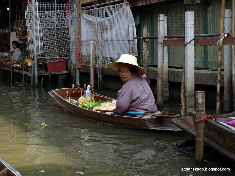 Floating Market - Damnoen Saduak