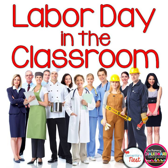 Labor Day in the Classroom- ideas and activities to teach labor day