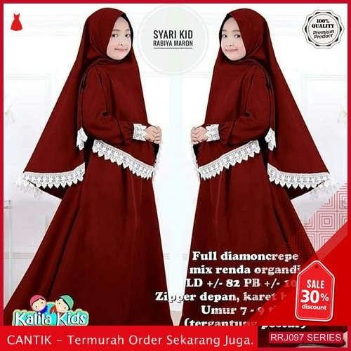 Jual RRJ097P187 Pakaian Anak Perempuan Wanita Rabiya Kids Mc BMGShop