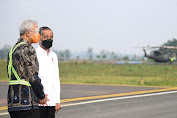 Kunjungi Bandara JBS Purbalingga, Jokowi : Alhamdulilah, Penumpangnya Lebih 70 Persen