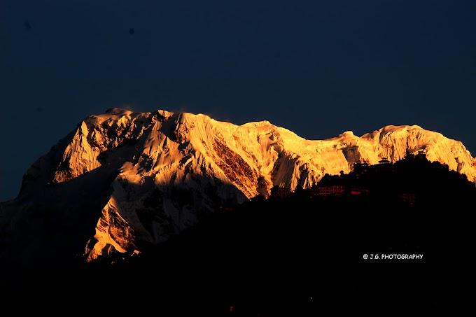 Sun-kissed Himalaya  Pokhara , Nepal