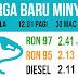 Harga Petrol Dan Diesel Minggu Ini