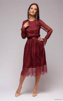 Vestidos Rojos Cortos Elegantes