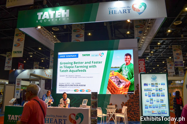 Tateh Aquafeeds Exhibit Stand