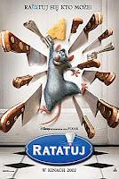 """Plakat z filmu """"Ratatuj"""""""