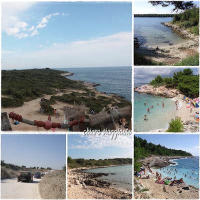 kamenjak premantura spiagge croazia istria