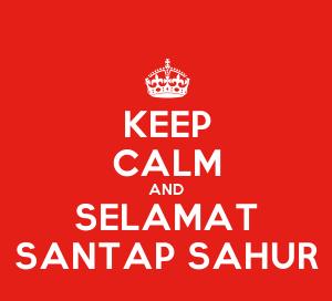 DP BBM Sahur