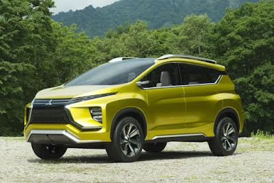 Monovolume concept Mitsubishi XM