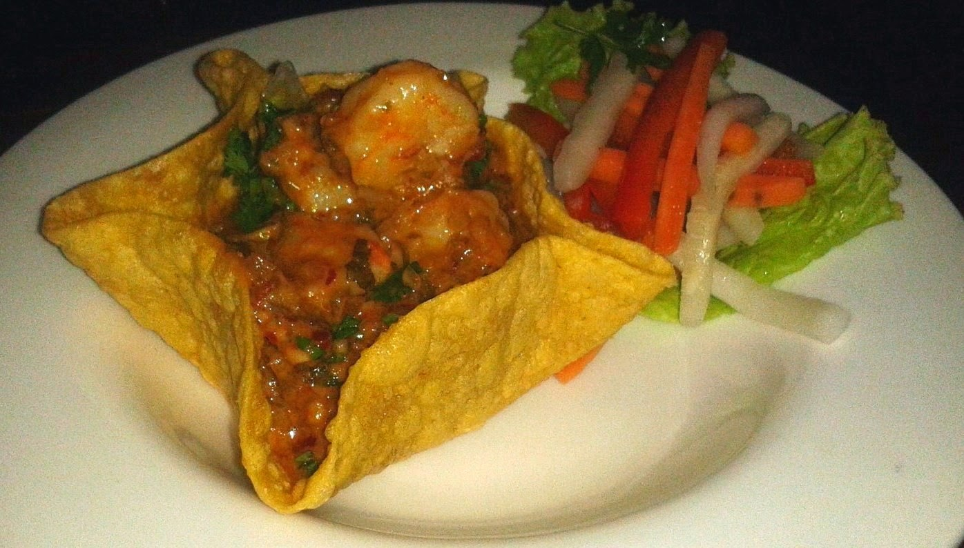 Orange Tequila Prawns Hard Rock Cafe