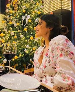 Mouni Roy Drink