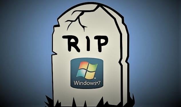 مايكروسوفت ترفع الدعم عن ويندوز 7 بشكل رسمي هل يمكن استعمال ويندوز 7 بعد رفع الدعم عنه نهاية ويندوز7