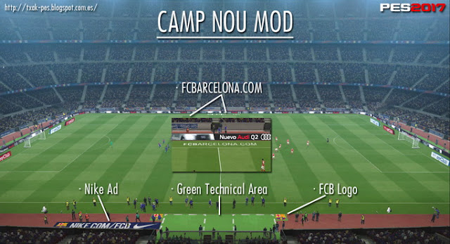 PES 2017 Camp Nou Mod by Txak