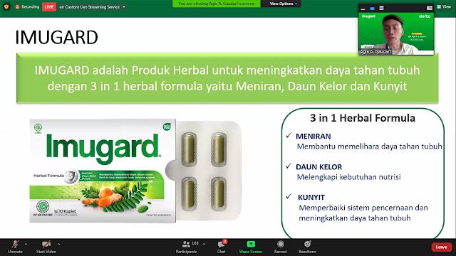 Imugard, Imunomodulator herbal