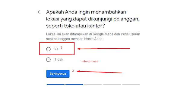 Nama Store atau nama Google bisnis