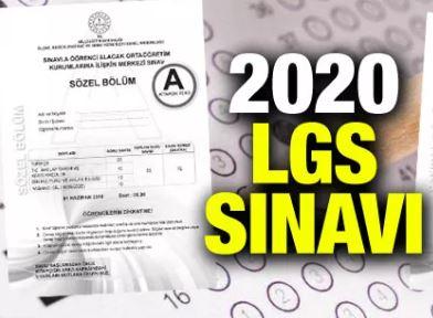 LGS 2020 Sınav Sonrası Yorumları ve Soru Çözümleri