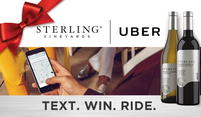 STERLING VINEYARDS UBER SWEEPSTAKES