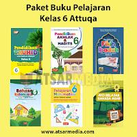 Paket Buku Pelajaran Kelas 6 Attuqa Untuk SD / MI