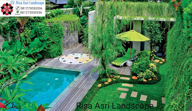 cv. risa asri landscape gambar desain taman kolam renang waterboom waterpark swimming pool
