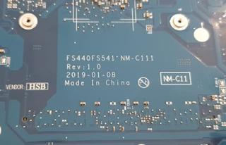 Lenovo IdeaPad 145 Mainboard FS440 FS541 NM-C111 REV 1.0 Laptop Bios