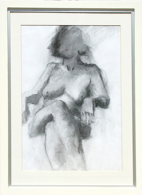 Nude -  Drawing -  Rosemary Marchetta