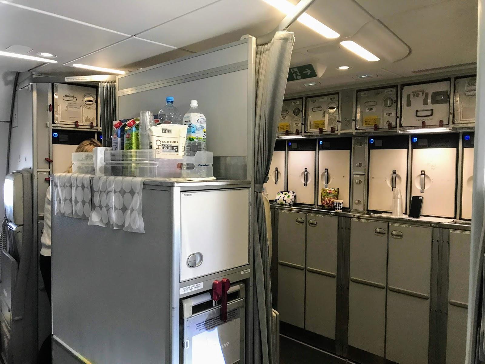 FINAIR A350-900 galley