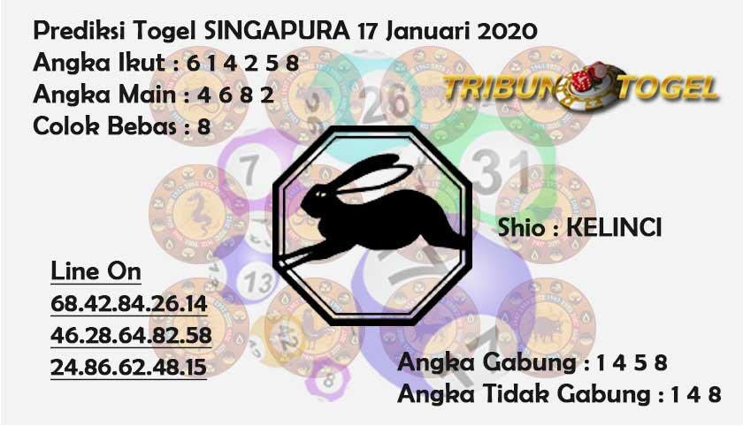 Prediksi Togel Singapura 17 Februari 2020 - prediksi Tribun Togel