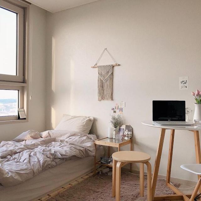 Inspirasi Desain Kamar Tidur Sederhana Ala Korea Terbaru
