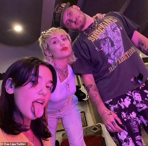 Miley Cyrus e Dua Lipa stanno per avere la loro prima collaborazione