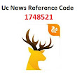 UC News Reference Code 1748521 Refer & Win Rs 5000