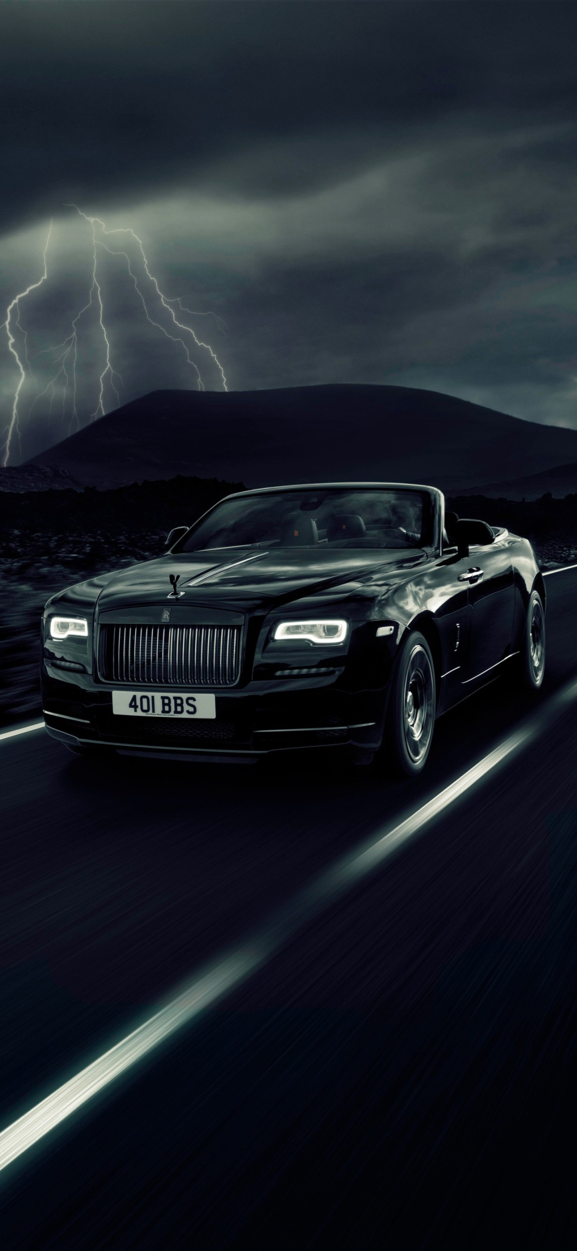 Rolls Royce Dawn mobile wallpaper