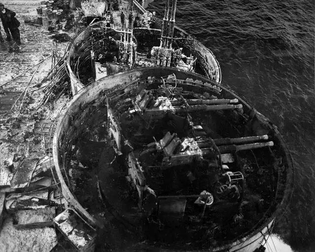 USS Enterprise during World War II worldwartwo.filminspector.com