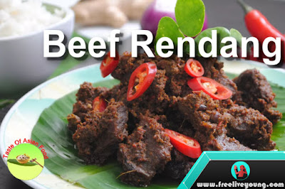 The most delicious food in the world Rendang