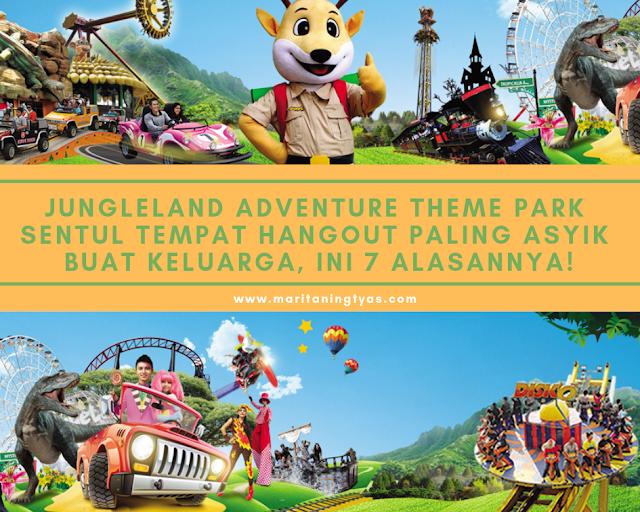 Jungleland Adventure Theme Park Sentul Tempat Hangout Paling Asyik Buat Keluarga, Ini 7 Alasannya!