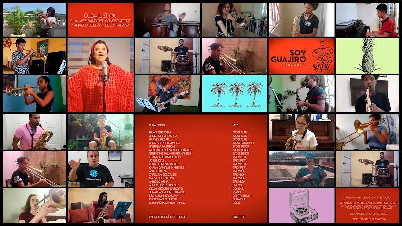 Olga Cerpa & Jazz Band Conservatorio Amadeo Roldán - ¨Soy Guajiro¨ - Videoclip. Portal Del Vídeo Clip Cubano
