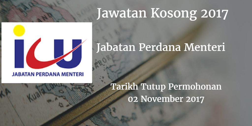 Jawatan Kosong ICU JPM 02 November 2017