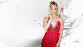 Kaley Cuoco nice hd background