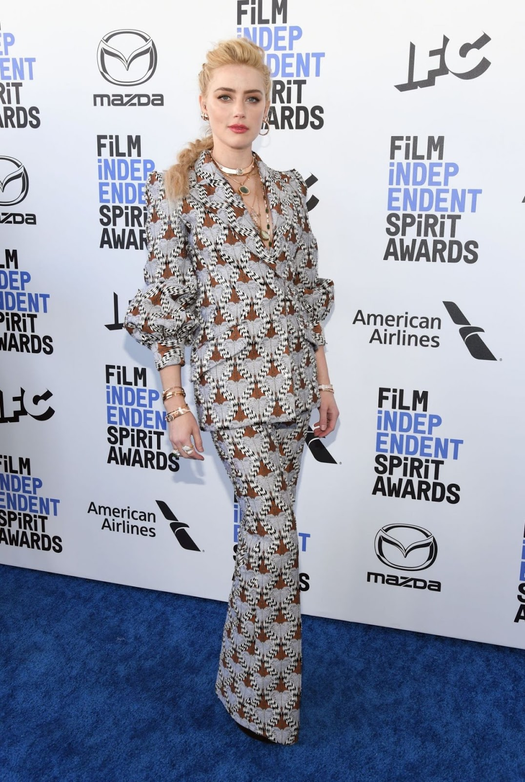 Amber Heard - Film Independent Spirit Awards in Santa Monica