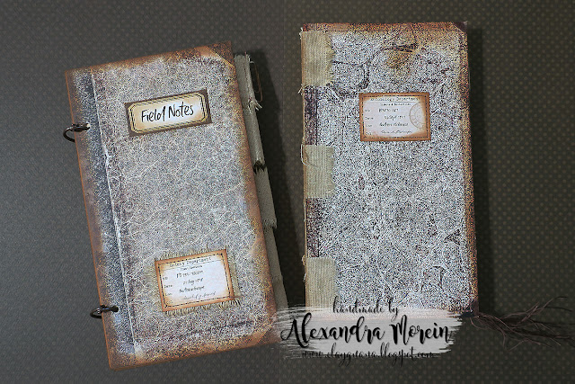 Vintage style junk journals