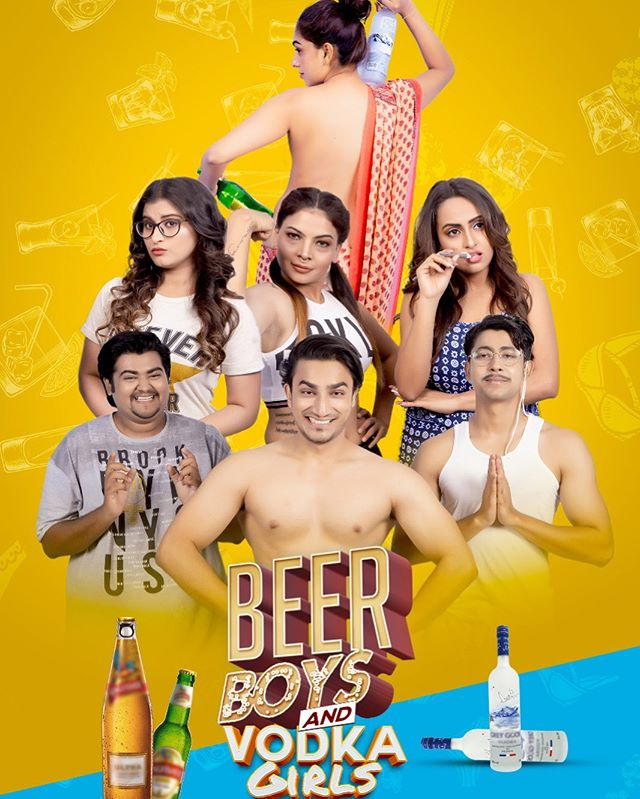 18+ Beer Boys and Vodka Girls (2021) Hindi [Season 01 Complete] WEB-DL 720p 700MB Download