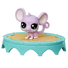 Littlest Pet Shop Series 1 Adorable Adventures Tiny Mowseman (#1-130) Pet